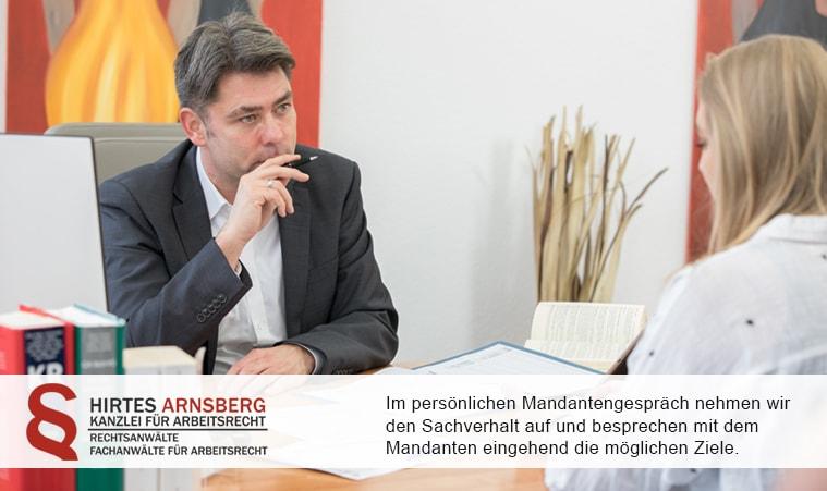 Arnsberg | HIRTES Anwälte für Arbeitsrecht
