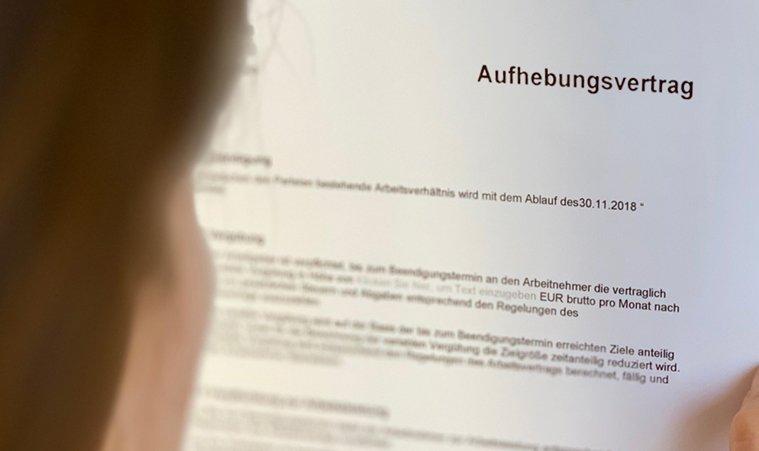 HIRTES Arbeitsrecht | Aufhebungsvertrag